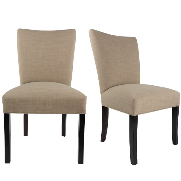 Tatianna Upholstered Contemporary Parsons Chair (Set of 2) by Red Barrel Studio