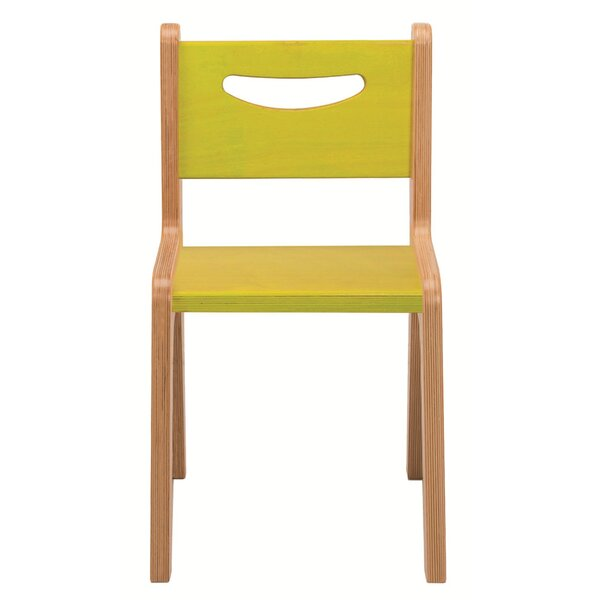 Solid Wood Classroom Chair by Whitney Plus