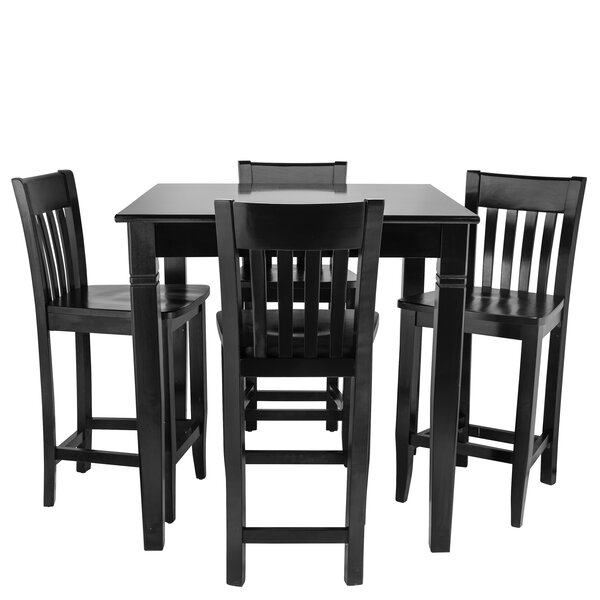 Weingartner 5 Piece Pub Table Set by Red Barrel Studio