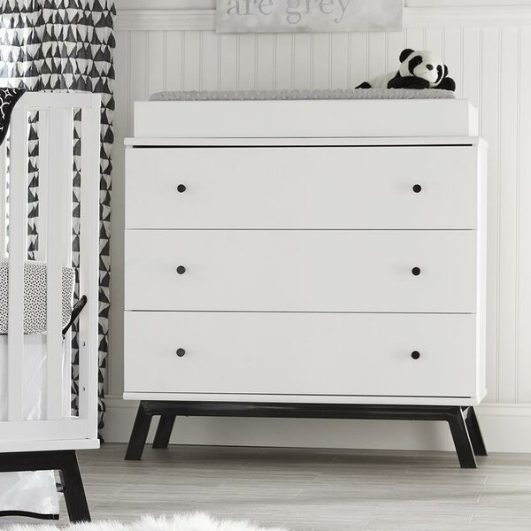 Amery 3 Drawer Changing Dresser by Harriet Bee
