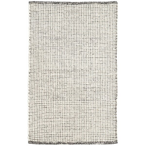 Network Hand-Woven Black Area Rug by Dash and Albert Rugs