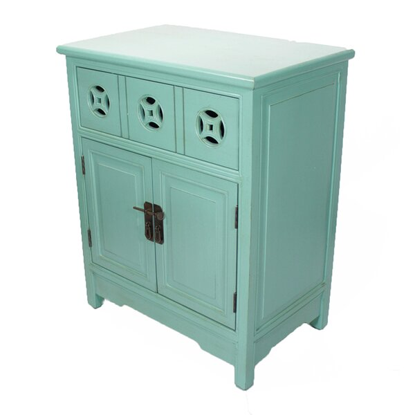 Davis 2 Doors Accent Cabinet by World Menagerie World Menagerie