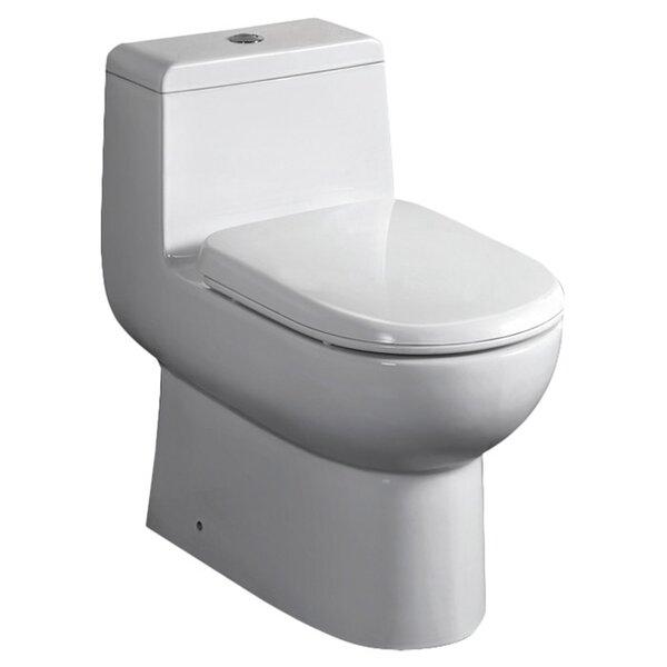 Antila Dual Flush Elongated One-Piece Toilet by Fresca