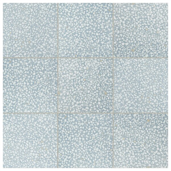 Parma Amalfi 11.5 x 11.5 Porcelain Field Tile in Azul by EliteTile