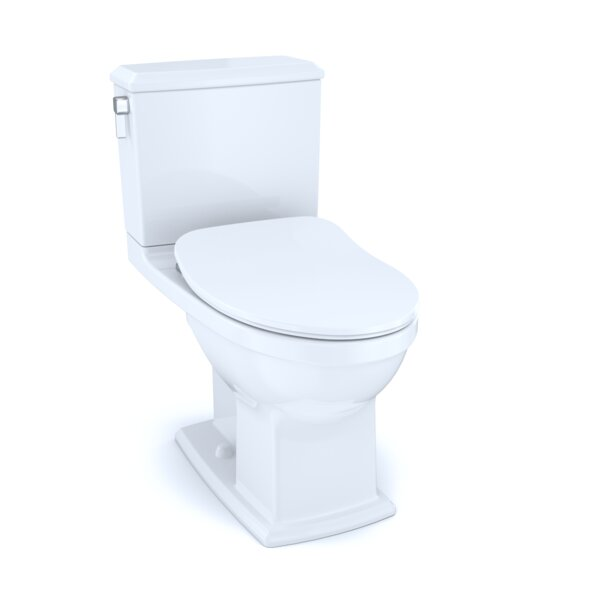 Conelly® Dual-Flush Elongated Two-Piece Toilet with High Efficiency Flush (Seat Included) by Toto