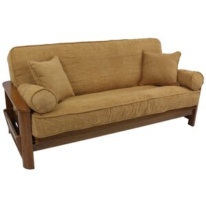 Microsuede Box Cushion Futon Slipcover by Blazing Needles