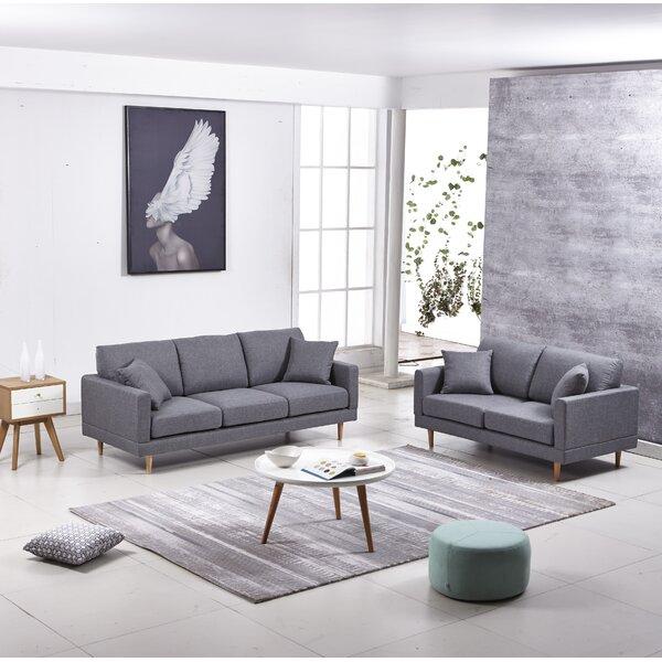 Rodney 3 Piece Living Room Set (Set of 3) by George Oliver