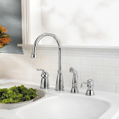 Swell Pfister Avalon Single Handle Kitchen Faucet With Side Spray Download Free Architecture Designs Scobabritishbridgeorg