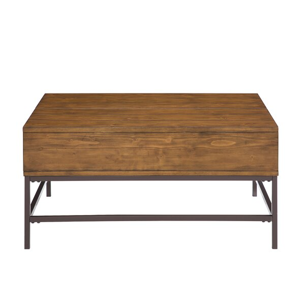 Kyle Lift Top Coffee Table with Storage by Modern Rustic Interiors