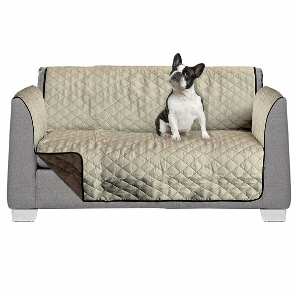 Reversible Box Cushion Loveseat Slipcover by American Kennel Club
