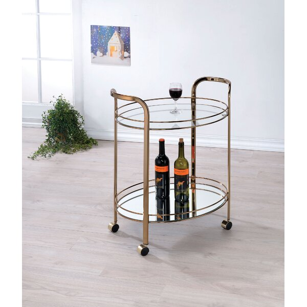 Gutierrez Bar Cart By Mercer41 Top Reviews