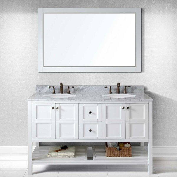 Bob 60 Double Bathroom Vanity Set by Willa Arlo Interiors
