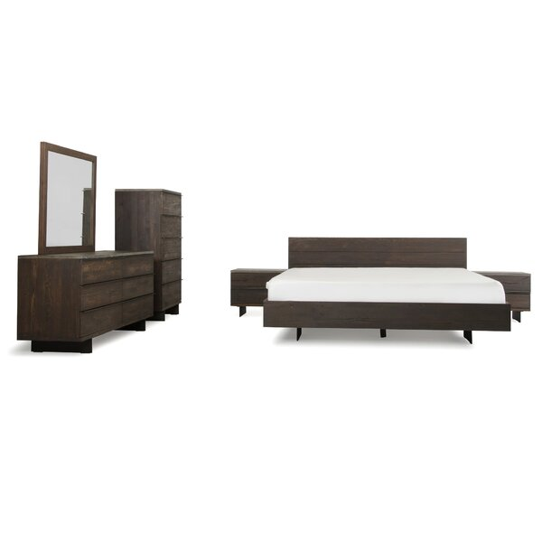 Posada Platform 6 Piece Bedroom Set by Mercury Row