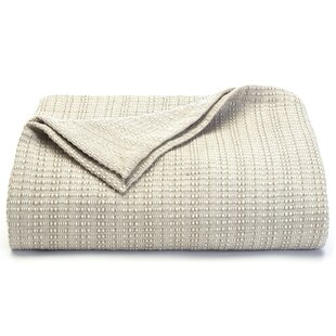 Bamboo Woven Cotton Blanket by Tommy Bahama Home