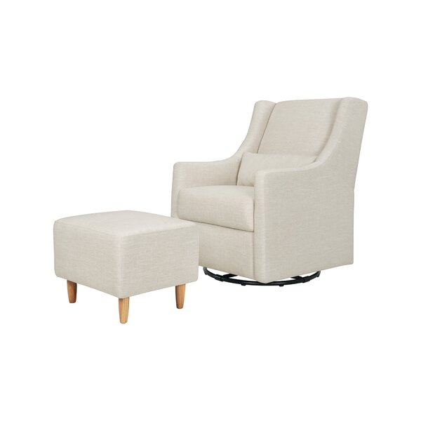 Toco Swivel Glider And Ottoman