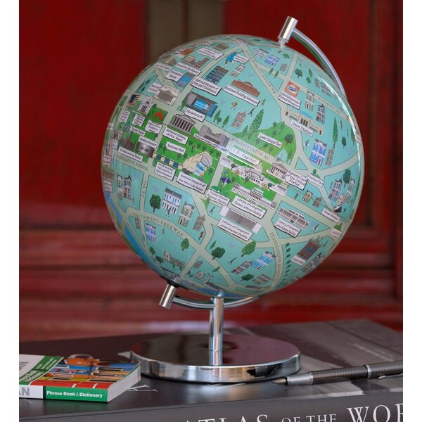 Washington DC Night Lights Globe by Waypoint Geographic