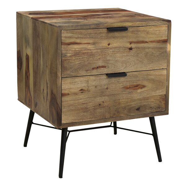 Screven 2 Drawer Nightstand By Foundry Select by Foundry Select Cheap