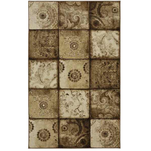 Domeier Brown Area Rug by Red Barrel Studio