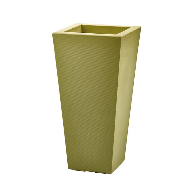 Bowery Plastic Pot Planter by Crescent Garden