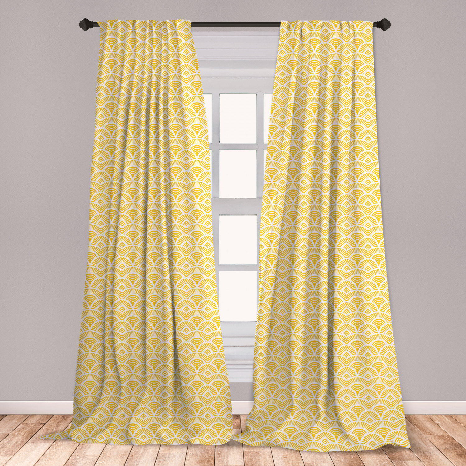 White And Black Sheer Curtains For Bedroom 63 Inches Stripe Window Curtain Drapes Rod Pocket 2