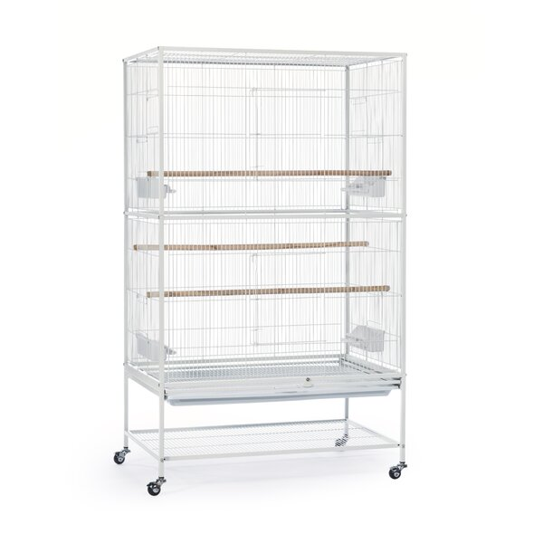 Flight Bird Cage with Storage Shelf by Prevue Hend