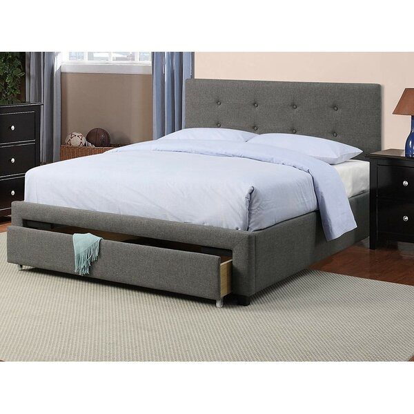 Bobrow Casual Modern Design Upholstered Storage Platform Bed by Red Barrel Studio