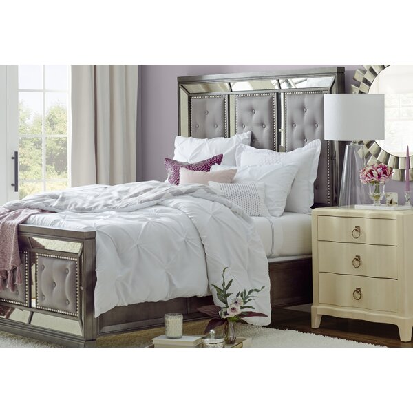 Roxie Upholstered Standard Bed by Willa Arlo Interiors