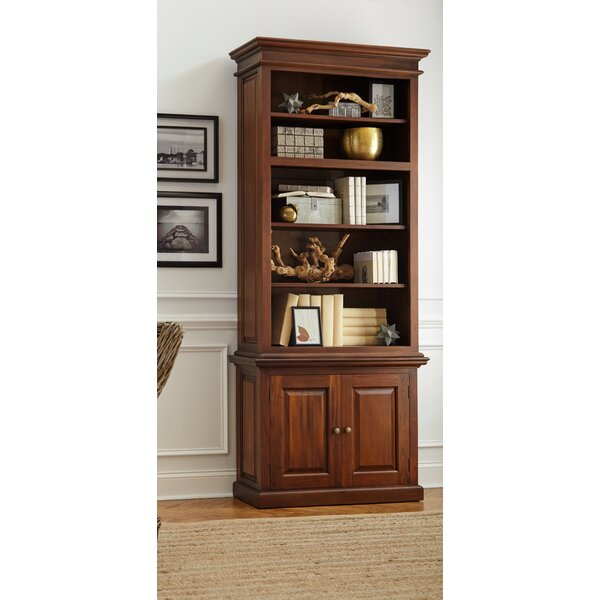 Lillydale Mahogany Standard Bookcase By Charlton Home
