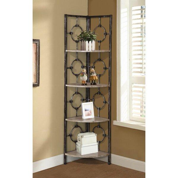 Lacy Corner Unit Bookcase by Wrought Studio