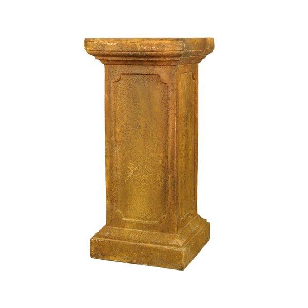 New York Newel Post Pedestal by OrlandiStatuary