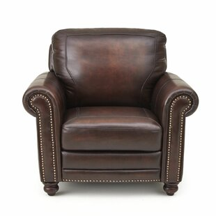 Wilmore Leather Club Chair by Darby Home Co Office Furniture