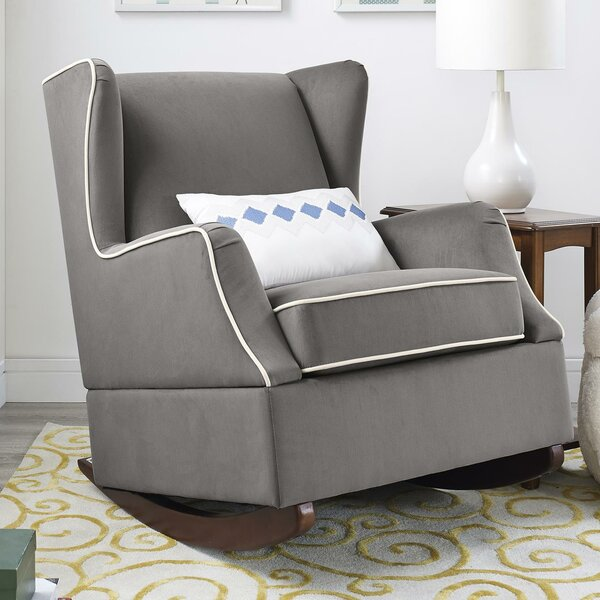 Hudson Wingback Rocker by Baby Relax