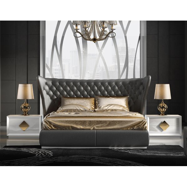 Knorr Standard Solid Wood 3 Piece Bedroom Set by Everly Quinn