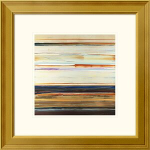 'Water's Edge' Framed Oil Painting Print by East Urban Home