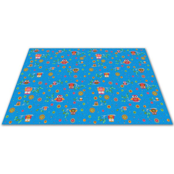 Counting Owls with ABCs Kids Rug by Kid Carpet