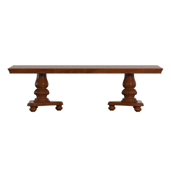 Carreiro Pedestal Extendable Dining Table by Darby Home Co