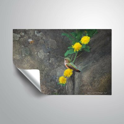 Leopoulos Dandelions Rock Wall Decal