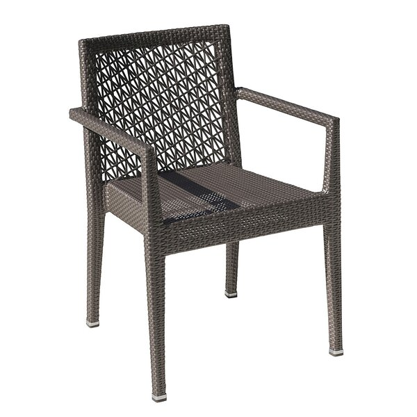 Maldives Stacking Patio Dining Chair by Panama Jack Outdoor Panama Jack Outdoor