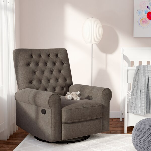 Arlen Swivel Reclining Glider by Harriet Bee