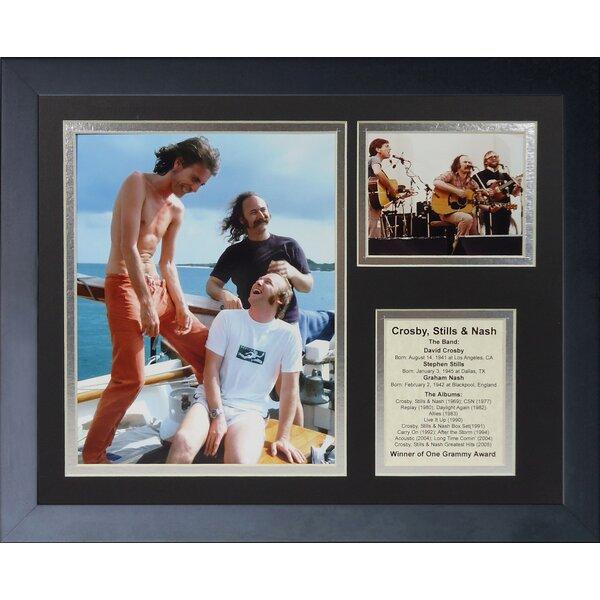 Cros, Stills Framed Memorabilia by Legends Never Die
