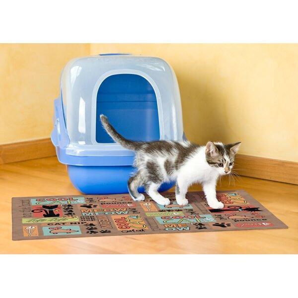 Myron Cat Litter Mat by Tucker Murphy Pet
