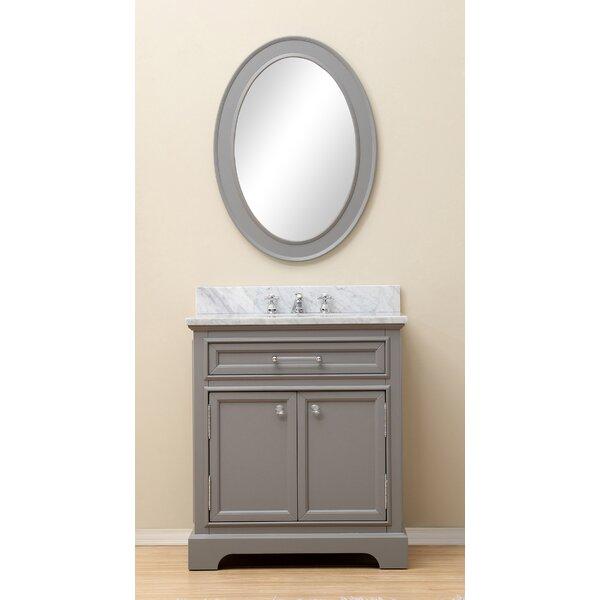 Bergin 24 Single Bathroom Vanity Set with Mirror by Three Posts