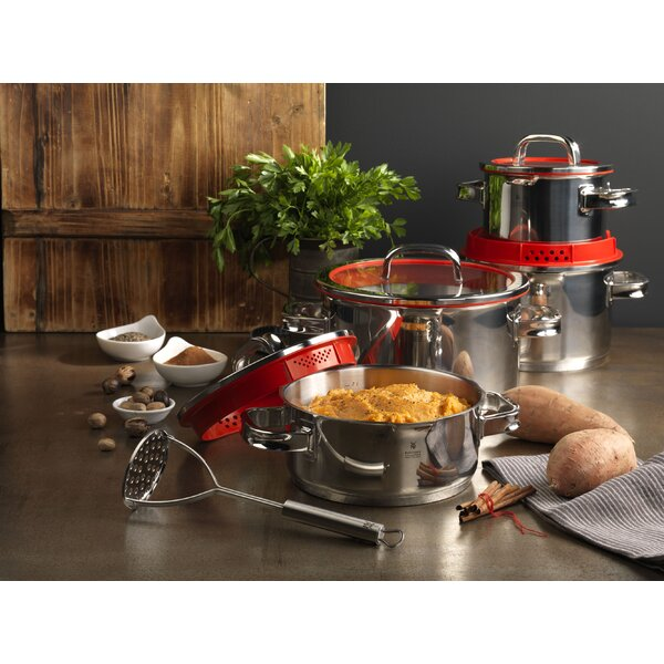 Function Four Stock Pot with Lid in 9 quart by WMF Americas