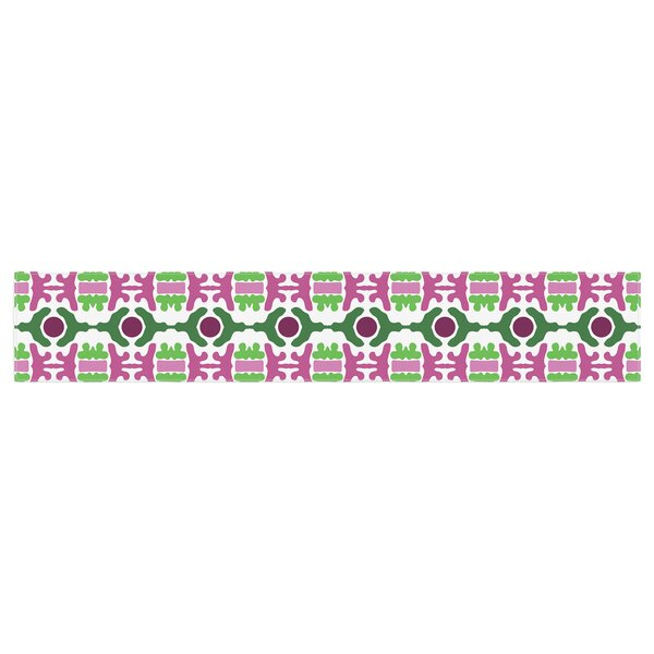 Empire Ruhl Island Dreaming Abstract Table Runner by East Urban Home