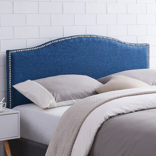 Navy Blue Velvet Headboard | Wayfair
