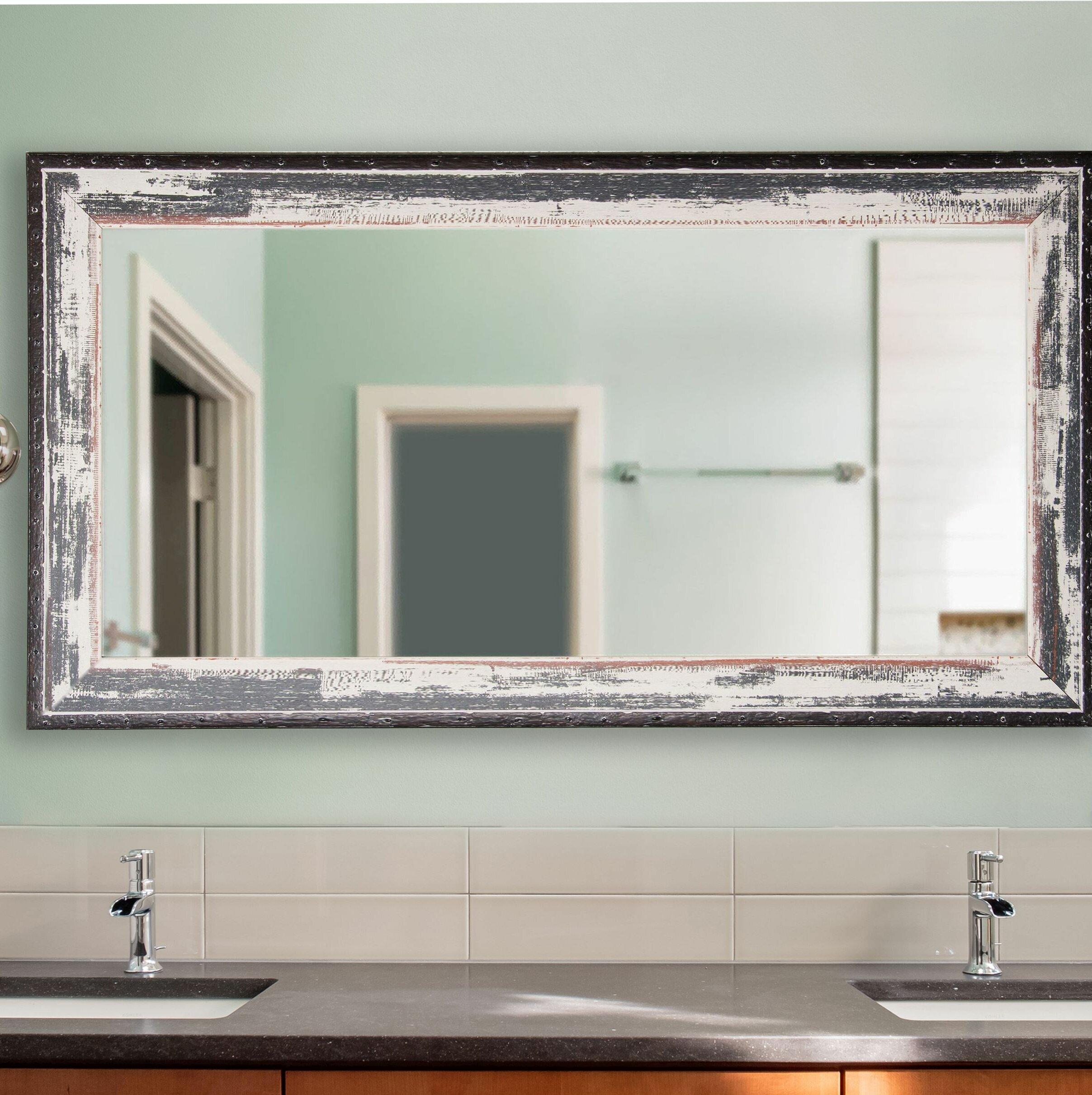 Gracie Oaks Junipero Modern Contemporary Bathroom Mirror Reviews Wayfair