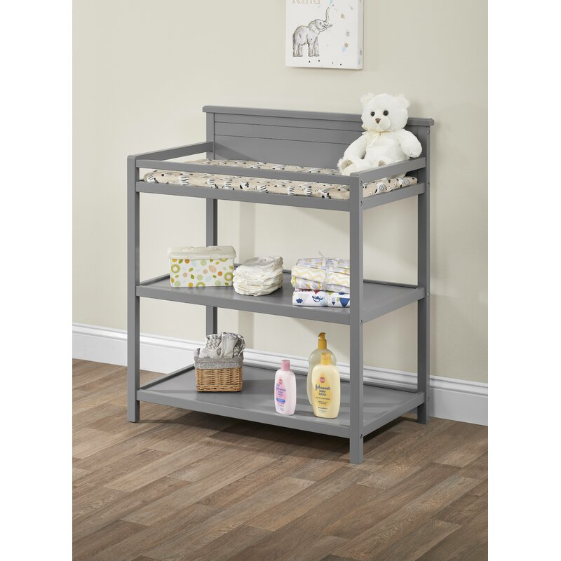 Harriet Bee Latta Changing Table With Pad & Reviews