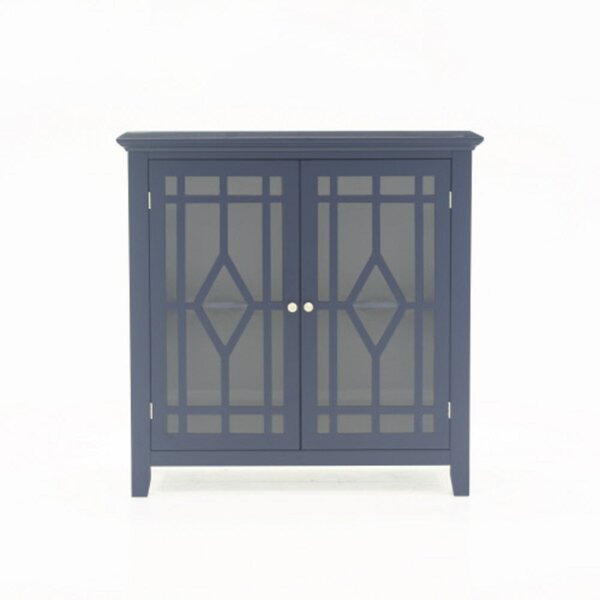 Dingler 2 Door Square Accent Cabinet By Highland Dunes