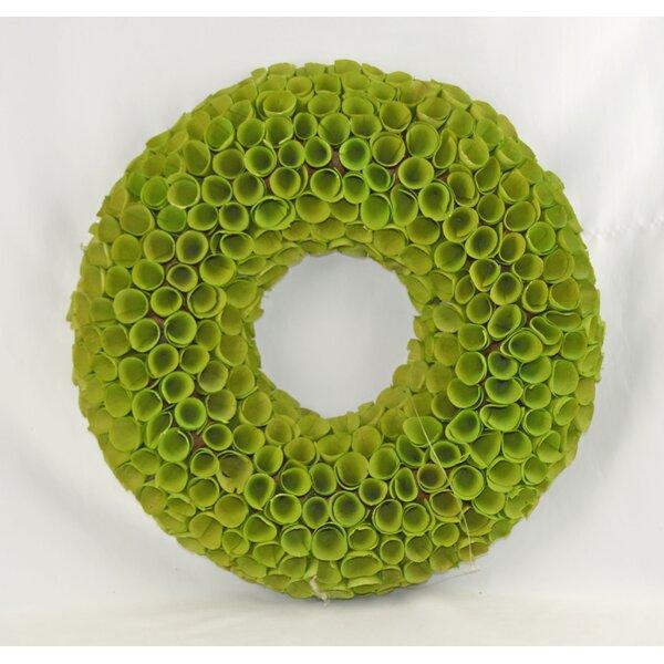 Simple Woodchip 18 Wreath by Orren Ellis