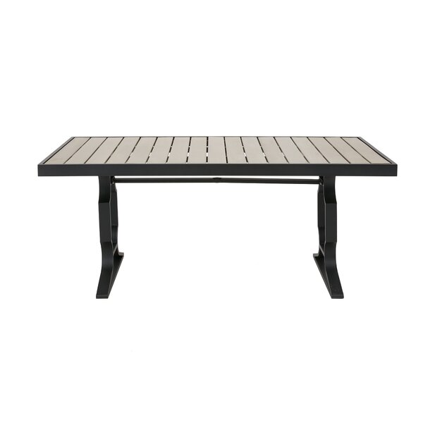 Parkwood Outdoor Dining Table by Bay Isle Home